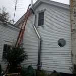 Exterior Chimney Installation