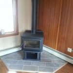 Wood Stove and Chimney Installation